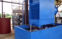 The pyrolysis equipment cooling system