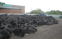 Waste Tires Storage