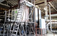 Pirotex pyrolysis plant for scrap tires and rubber recycling and utilization