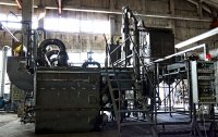 Small scale pyrolysis plant for scrap tires utilization