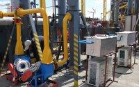 Installation of the closed pyrolysis unit Pirotex