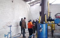 Installation of the Pyrolysis Unit in Ravda, Bulgaria