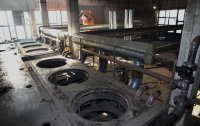 Pirotex plant pyrolysis furnaces