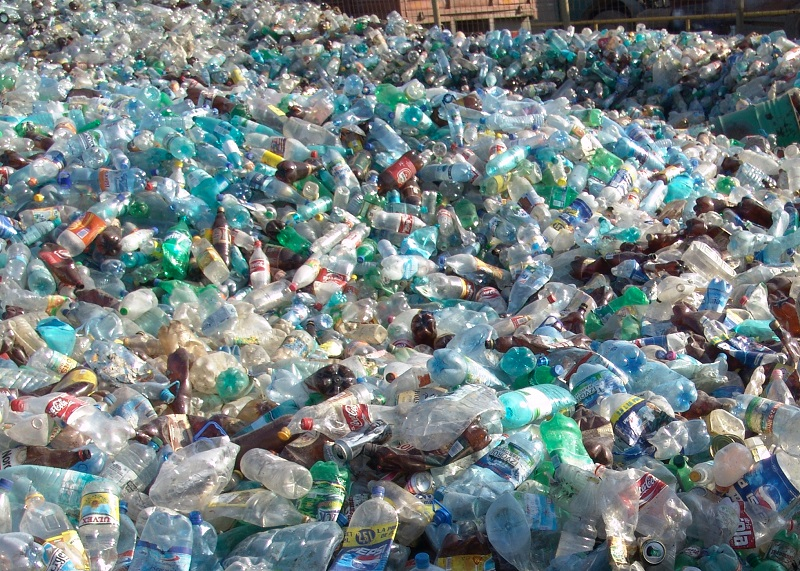 отходы бутылки