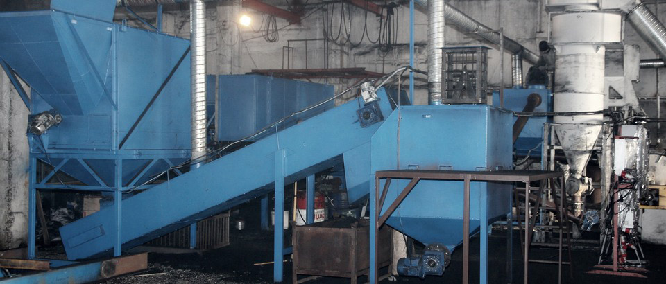 The Konstanta line for processing of solid carbon-containing residue